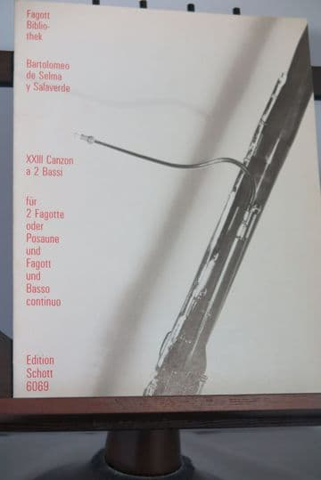 Selma y Salaverde B - 23 Canzon a 2 Bassi for 2 Bassoons & Basso Continuo arr Kastner M S